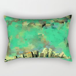 explosions in the sky Rectangular Pillow