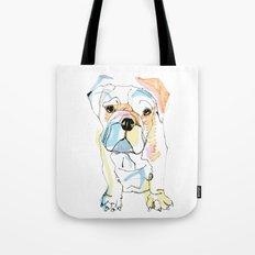 Bulldog Colour Tote Bag