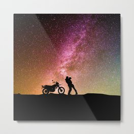 Night Time Love Metal Print