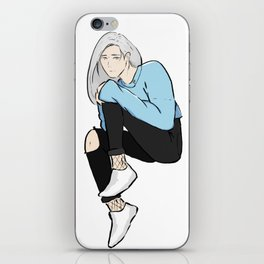 vitya - yuri on ice iPhone Skin