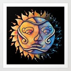 Soluna Art Print