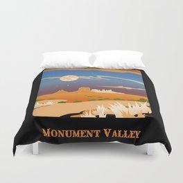 Monument Moon 2 Duvet Cover