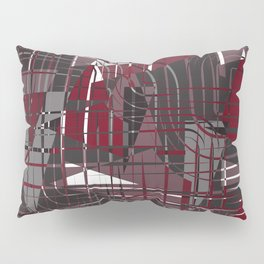 Land of Red Pillow Sham