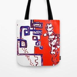 Progressive Triplet                 by   Kay Lipton Tote Bag