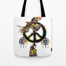 Peace dream cather Tote Bag