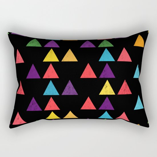 Lovely geometric Pattern XIII Rectangular Pillow