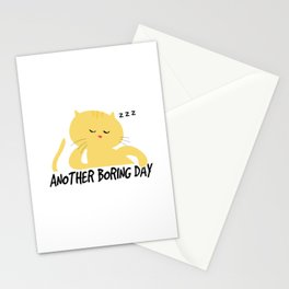 Another Boring Day Stationery Cards
