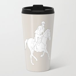 Eventing in brown Travel Mug