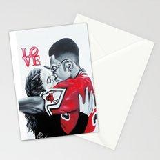 Black Love- Dwayne & Whitley Stationery Cards