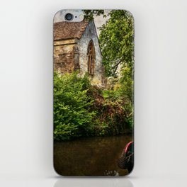 Church By The Oxford Canal iPhone Skin