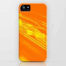The Love Series 200 Orange iPhone Case