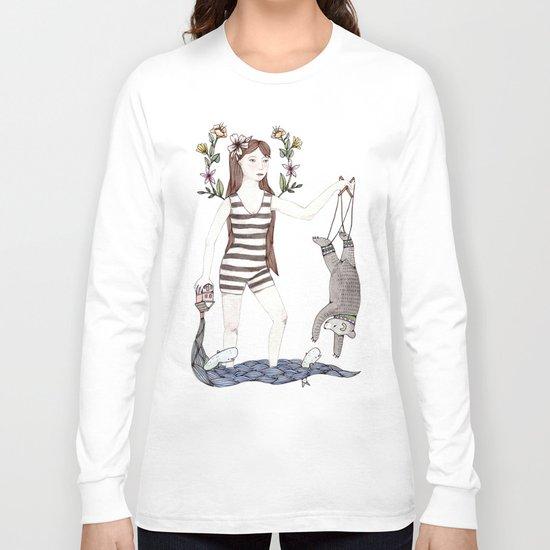 Dangle Bear Long Sleeve T-shirt