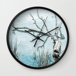 Fallen Branch Wall Clock