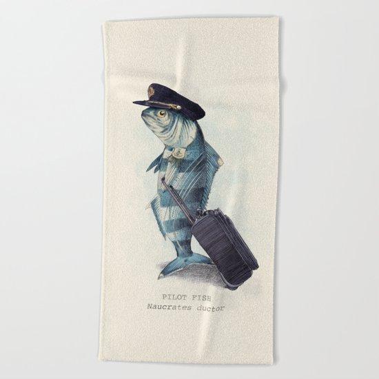 The Pilot Beach Towel