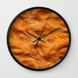 Iron water stream Wall Clock