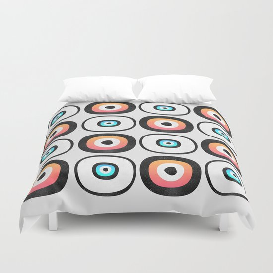 Space Sushi Duvet Cover