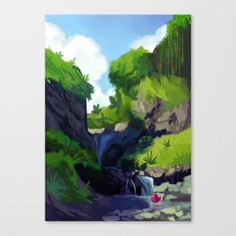 Underbird goes on Holiday Canvas Print