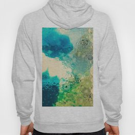 Retro Abstract Photography Underwater Bubble Design Hoody