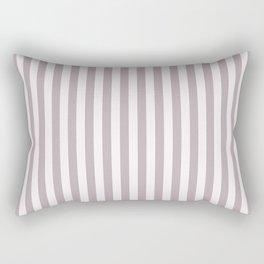 Annas Song soft dusty rose Stripes Rectangular Pillow