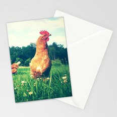 The Life of a Chicken Stationery Cards