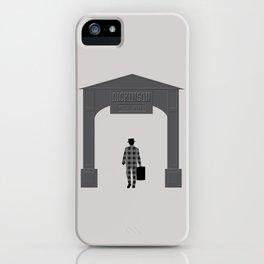 Dickinson Metal Works (DEAD MAN) iPhone Case