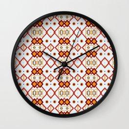 MOSAICO FLORAL Wall Clock