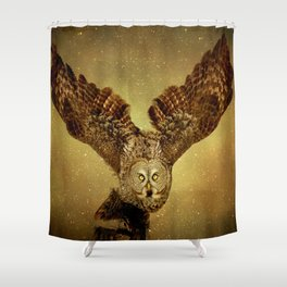 Queen of the night Shower Curtain