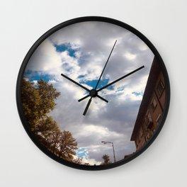 City Walk Wall Clock