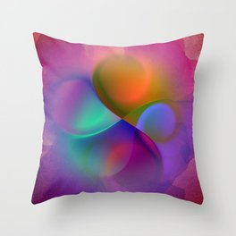 crossing colors -a- Throw Pillow