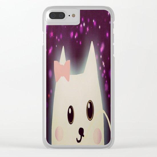 cat-114 Clear iPhone Case