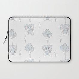 Elephants with Balloons Laptop Sleeve