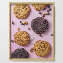 Delicious Cookies Serving Tray