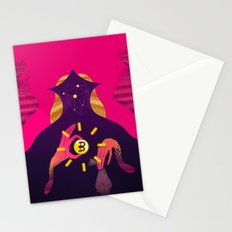 Mystic Bitcoin Stationery Cards