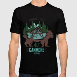 Canmore Folk Festival 40th Anniversary T-shirt