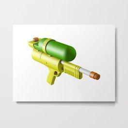 Water Gun Metal Print
