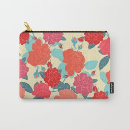 Rose Garden - Light Carry-All Pouch