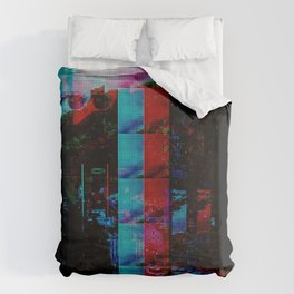 Face of a thousand Voices Duvet Cover