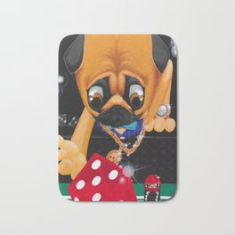 Pugsy the Playa Bath Mat