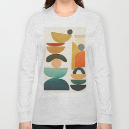 Modern Abstract Art 72 Long Sleeve T-shirt