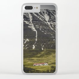 Sleepy Town of One Clear iPhone Case