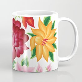 Mexican Floral Bouquet Coffee Mug