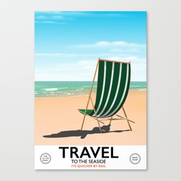 "TRAVEL ""To the seaside"" Canvas Print"