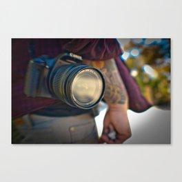 photo on the go Canvas Print