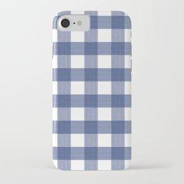 Blue Buffalo Check iPhone Case