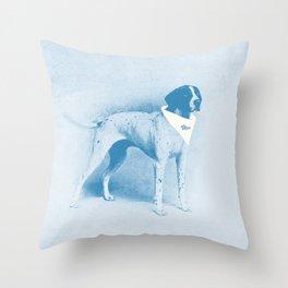 Muse Dog Throw Pillow