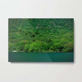 Heat Wave Hakone Metal Print
