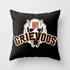General Frisco Grievous Throw Pillow