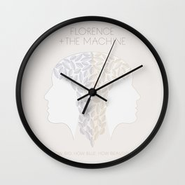 Florence + The Machine Wall Clock
