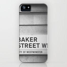 Oh, Sherlock! iPhone Case