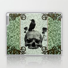 Skull and crows Laptop & iPad Skin